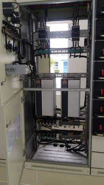 污水提升泵站配电柜结构图